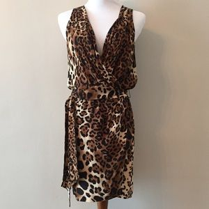 Nanette Lepore Leopard Print Dress